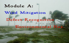 FL CE: Module A (Wind Mitigation, Defect Recognition, Env. Hazards)